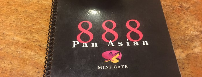 888 Pan Asian Mini Cafe is one of Lugares favoritos de Greg.