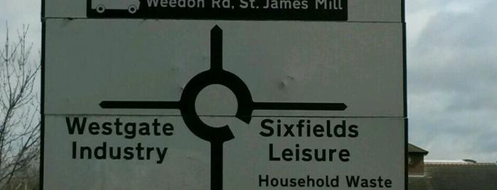Sixfields Leisure Park is one of Locais curtidos por Leonard.