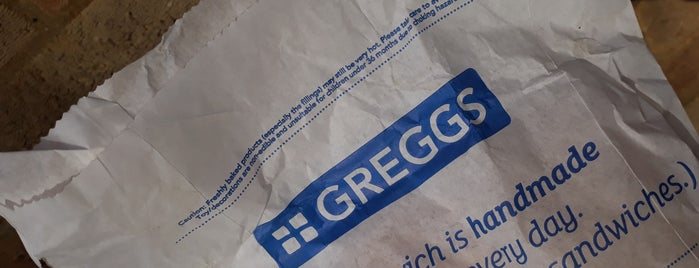 Greggs is one of Lieux qui ont plu à Carl.