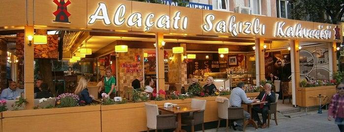 Alaçatı Sakızlı Kahvecisi is one of İzmir'de gidilmesi gereken yerler.