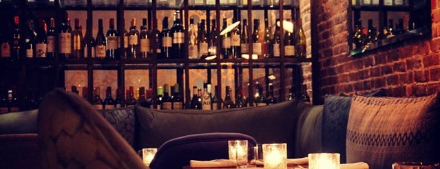 La Compagnie des Vins Surnaturels is one of New York soho.