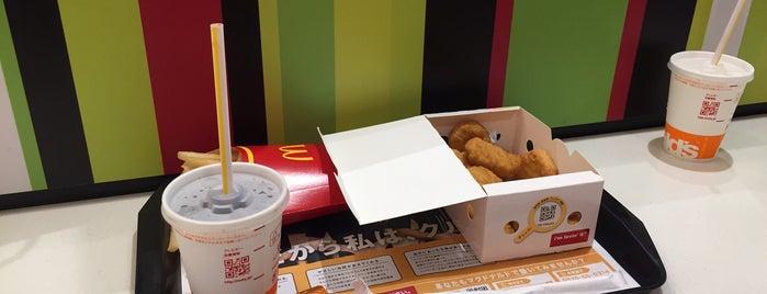 マクドナルド is one of コンセント付きの店.