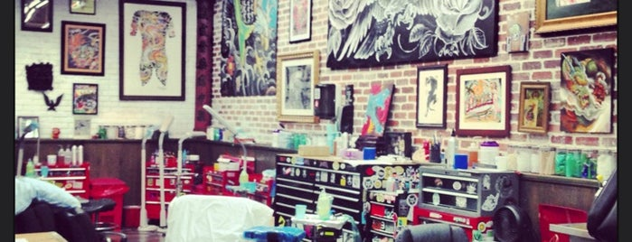 Miami Ink Tattoo Studio is one of Joao 님이 좋아한 장소.