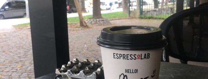 EspressoLab is one of Lieux qui ont plu à Samet.