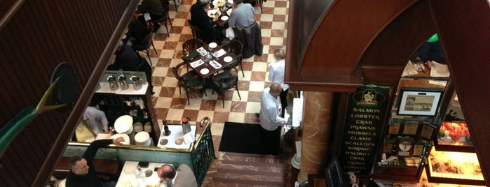 Joe Fortes Seafood & Chop House is one of ShuckerPaddy's Oyster Bars.