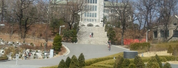 Ewha Womans University is one of My Korea-Japan Trip'13.