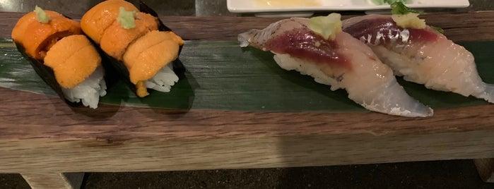 Kuma Sushi + Sake is one of Josie visit.