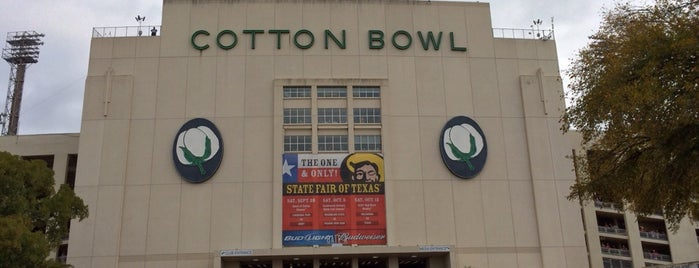 Cotton Bowl is one of College Football Stadiums in Texas.