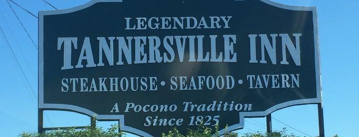 Tannersville Inn is one of Tempat yang Disimpan G.