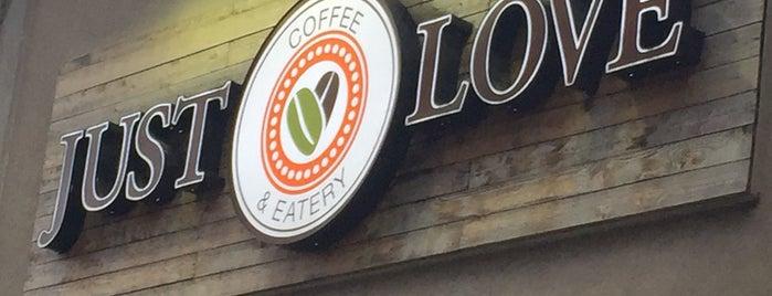 Just Love Coffee Cafe - Music Row is one of Gespeicherte Orte von G.
