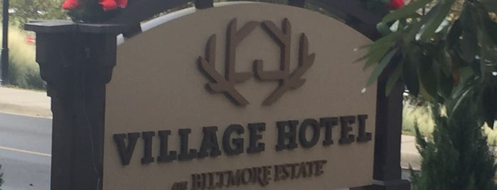 Village Hotel on Biltmore Estate is one of Non restaurants.