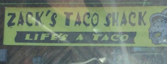 Zack's Taco Shack is one of สถานที่ที่บันทึกไว้ของ G.