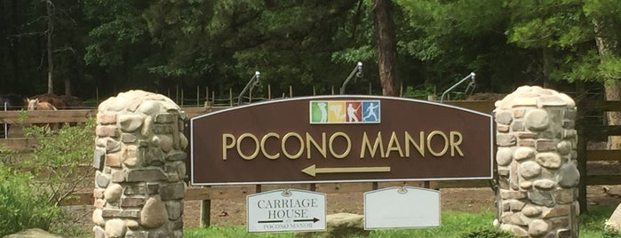 The Inn at Pocono Manor is one of Non restaurants.