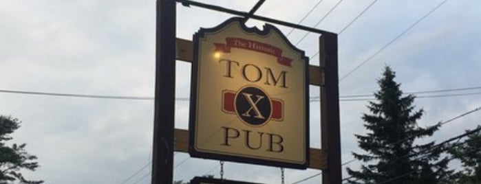 Tom X Pub is one of Gさんの保存済みスポット.