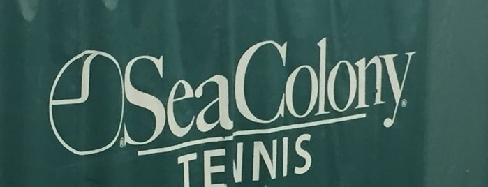 Sea Colony Tennis is one of Non restaurants.