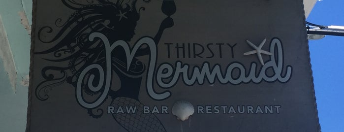 The Thirsty Mermaid is one of Key West.