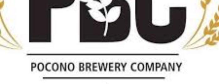 Pocono Brewing Company is one of สถานที่ที่บันทึกไว้ของ G.