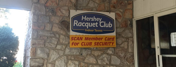 Hershey Racquet Club is one of Non restaurants.
