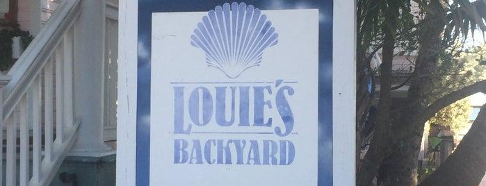 Louie's Backyard is one of G : понравившиеся места.