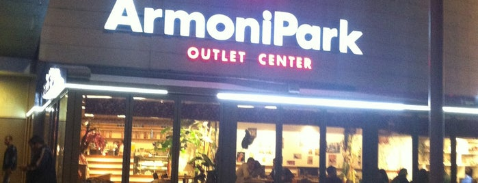 ArmoniPark is one of shopping.