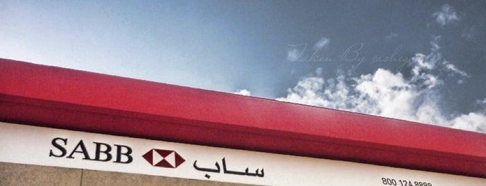 SABB Bank is one of สถานที่ที่ Ghaida.H ถูกใจ.