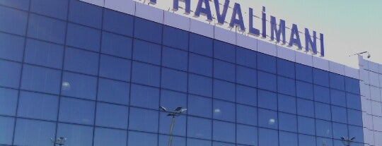 Ercan Airport (ECN) is one of Hava Alanlari.