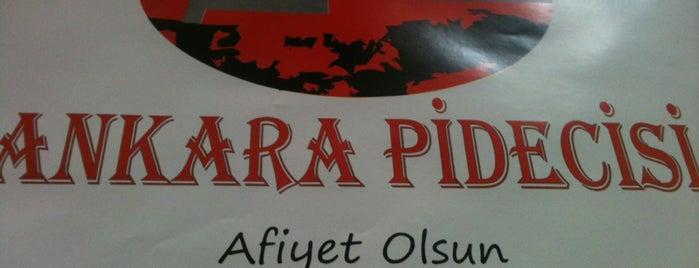 Ankara Pidecisi is one of สถานที่ที่บันทึกไว้ของ Tolga.