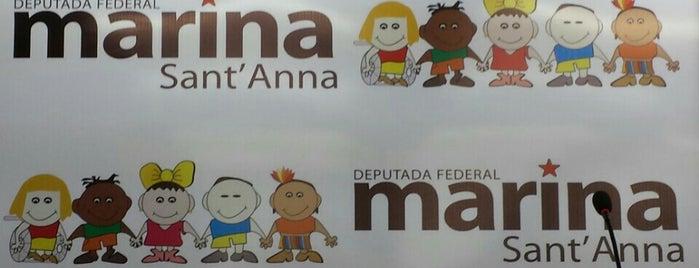 Escritório da Dep. Federal Marina Sant'Anna is one of Melhor atendimento.