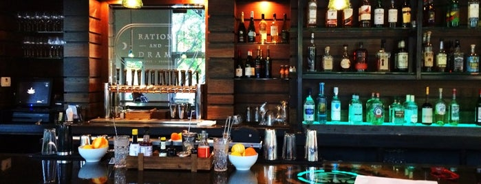 Ration and Dram is one of Atlanta bucket list.