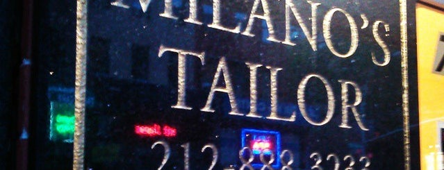 Milano's Tailor is one of New York, New York.