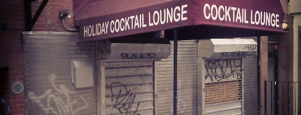 Holiday Cocktail Lounge is one of Near Standard East Village.