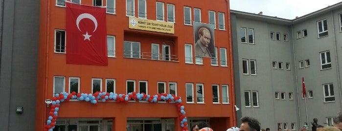 Mehmet Şam Ticaret Meslek ve Anadolu Ticaret Meslek Lisesi is one of Lugares favoritos de ♣$Bayazıt$♣.