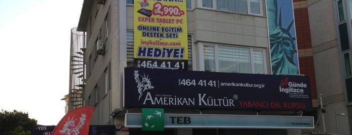 Amerikan Kültür Derneği Erenköy Dil Okulu is one of Lieux qui ont plu à ilknur.