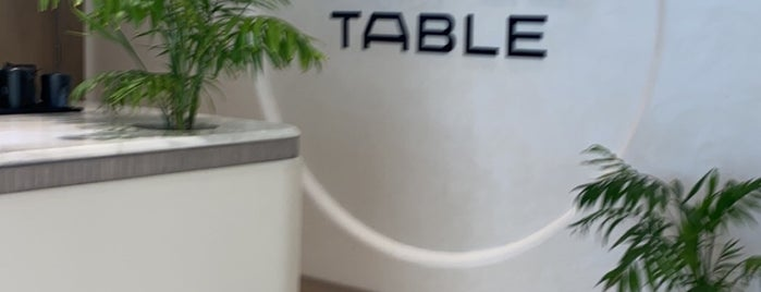 The Coffee Table is one of Coffee shops | Riyadh ☕️🖤.