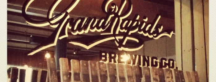 Grand Rapids Brewing Company is one of Great Breweries (mainly microbreweries).