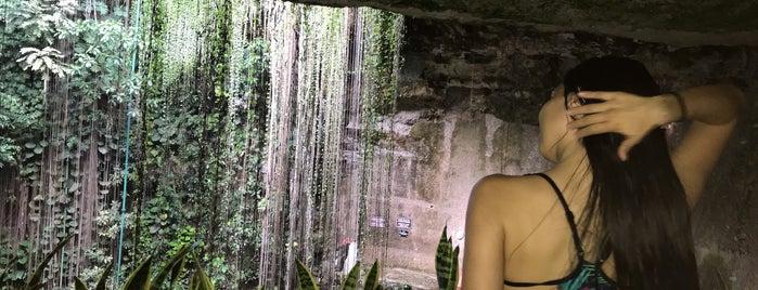 cenote ik kil is one of Tempat yang Disimpan Marzelus.