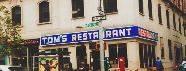 Tom's Restaurant is one of NEW YORK CITY : Manhattan in 10 days! #NYC enjoy.