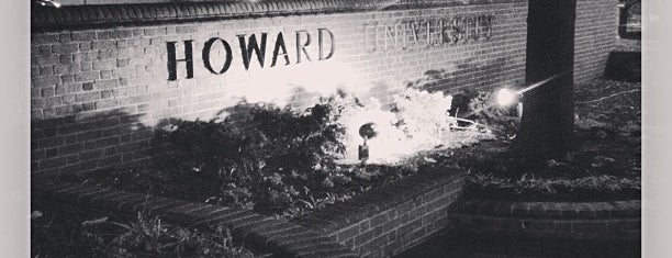 Howard University is one of Lieux sauvegardés par PenSieve.