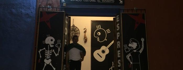 """Café Brújula Espacio Cultural """"El Venadito"""" is one of Oaxaca."""