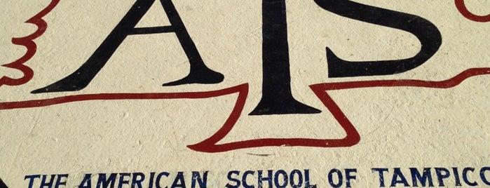 The American School of Tampico is one of สถานที่ที่ Lore ถูกใจ.