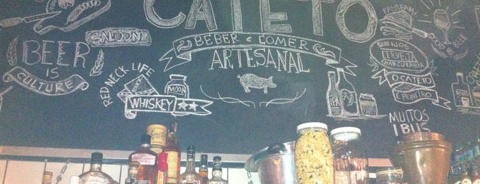 Cateto Beber e Comer Artesanal is one of Craft Beers (Cervejas Artesanais).