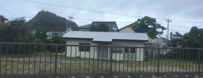 Awa-Katsuyama Station is one of JR 키타칸토지방역 (JR 北関東地方の駅).