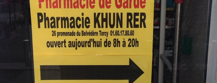 Pharmacie KHUN - R.E.R is one of Pharmacies.