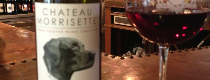 Chateau Morrisette Winery and Restaurant is one of Drinks.