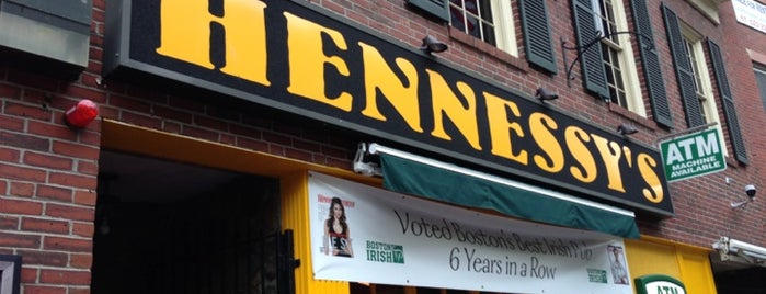 Hennessey's is one of Boston.