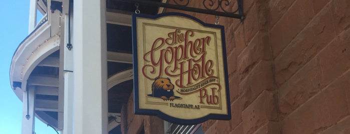 The Gopher Hole Pub is one of Flagstaff.