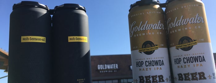 Goldwater Brewing Co. Longbow Tap Room is one of Wishlist: Breweries/Bars/Pubs.