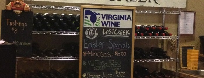 Lost Creek Winery is one of DC.