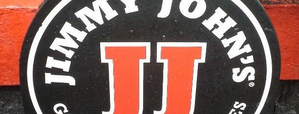 Jimmy John's is one of Orte, die 🚡 Chris gefallen.