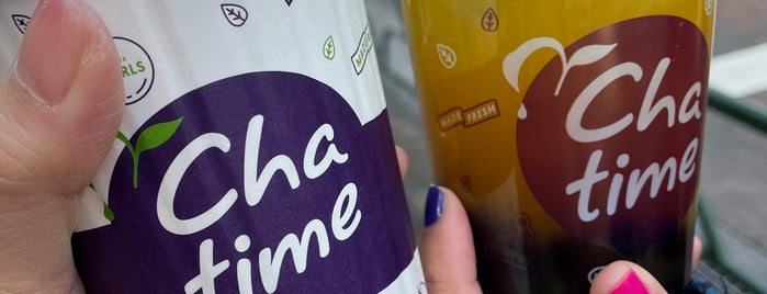 Chatime is one of Bubble tea Tokyo.